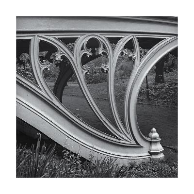 Central Park Gothic Bridge Arch Detail-Henri Silberman-Photographic Print