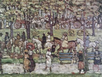 Central Park in 1903-Maurice Brazil Prendergast-Giclee Print