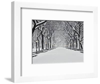 Central Park in Winter-Rudy Sulgan-Framed Photographic Print