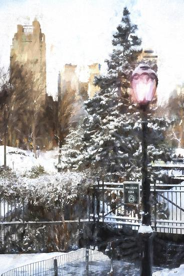 Central Park in Winter-Philippe Hugonnard-Giclee Print