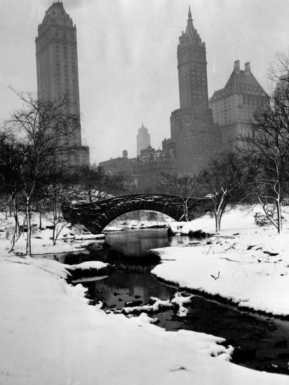 Central Park, New York City, 1945--Photo