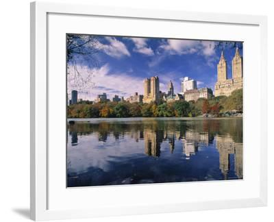Central Park, New York City, Ny, USA-Walter Bibikow-Framed Photographic Print