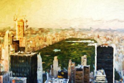Central Park Skyline II - In the Style of Oil Painting-Philippe Hugonnard-Giclee Print