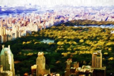 Central Park Skyline V - In the Style of Oil Painting-Philippe Hugonnard-Giclee Print