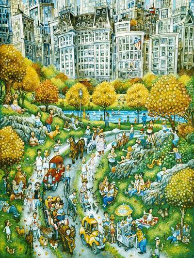 Central Park Sunday-Bill Bell-Giclee Print