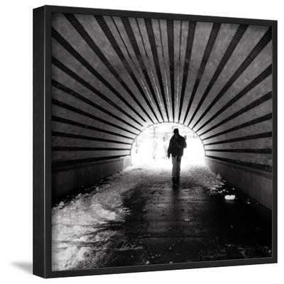 Central Park Tunnel-Evan Morris Cohen-Framed Photographic Print