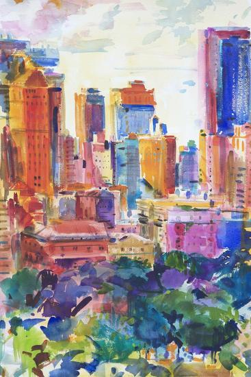 Central Park West, 2011-Peter Graham-Giclee Print