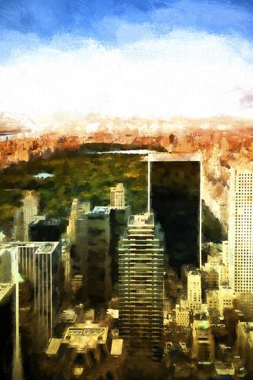 Central Park-Philippe Hugonnard-Giclee Print