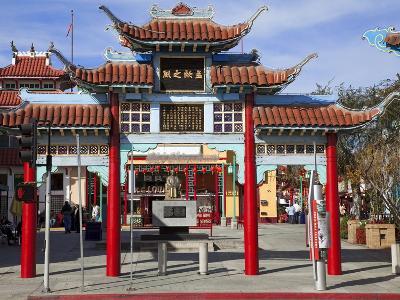 Central Plaza, Chinatown, Los Angeles, California, United States of America, North America-Richard Cummins-Photographic Print