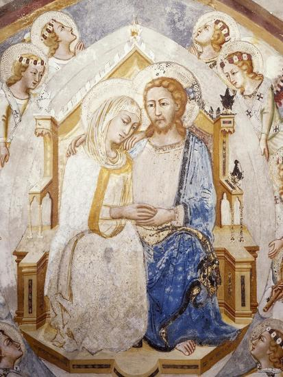 Central Section of Assumption of the Virgin, from Master Trecentesco School--Giclee Print
