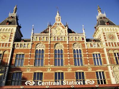 Central Station, Amsterdam, the Netherlands (Holland)-Sergio Pitamitz-Photographic Print