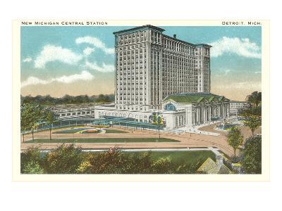Central Station, Detroit, Michigan--Art Print
