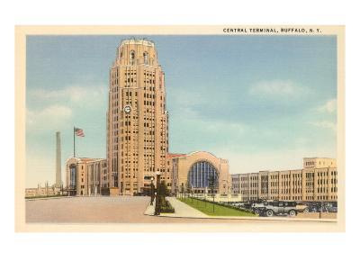 Central Terminal, Buffalo, New York--Art Print