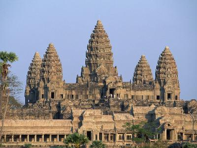 Central Towers of Angkor Wat, Cambodia-Kevin R^ Morris-Photographic Print