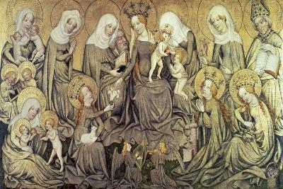 Centre Panel of the Ortenberg Altarpiece, C1410-1420--Giclee Print
