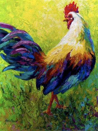 CEO Rooster-Marion Rose-Giclee Print