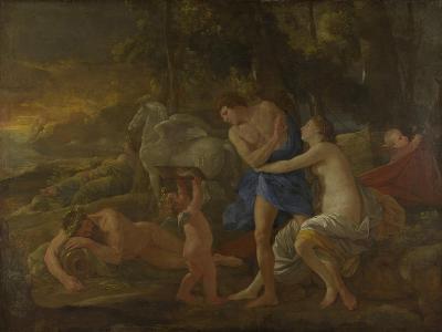 Cephalus and Aurora, C.1630-Nicolas Poussin-Giclee Print