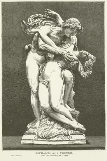 Cephalus and Procris--Giclee Print