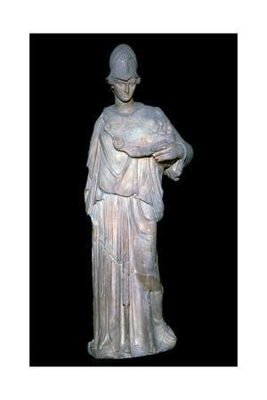 Vase known as Athena a la Ciste, 4th century BC. Artist: Cephisodotus