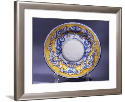 Ceramic Serving Platter--Framed Giclee Print