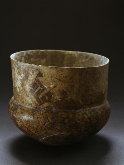 Ceramic Vase from Archaeological Site of Serra D'Alto, Basilicata, Italy, Neolithic Era--Giclee Print