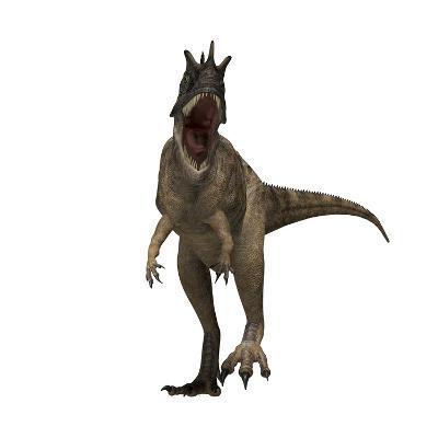 Ceratosaurus Dinosaur from the Jurassic Period--Art Print
