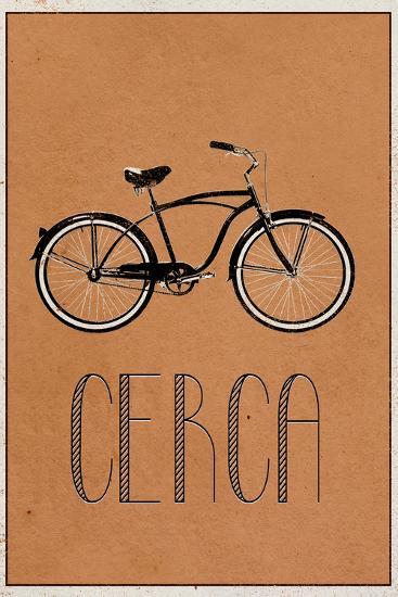 CERCA (Italian -  Explore)--Art Print