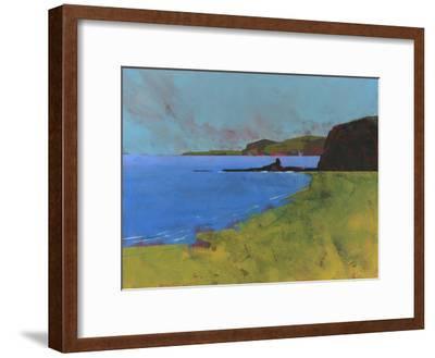 Ceredigion Cliffs-Paul Bailey-Framed Premium Giclee Print