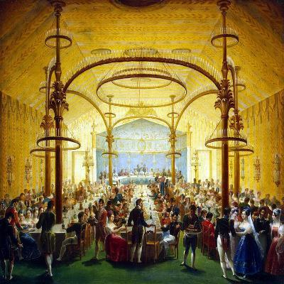 Ceremonial Dinner in Honour of the Moscow Governor-General Prince Dmitry Golitsyn, 1830S--Giclee Print