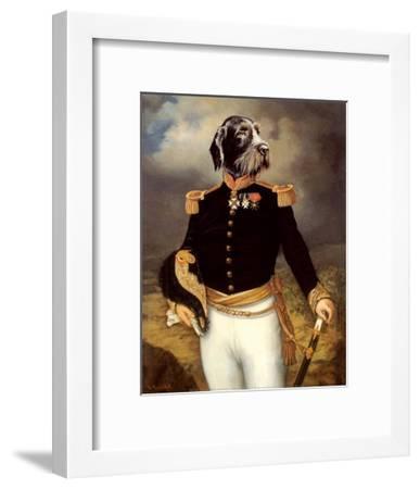Ceremonial Dress-Thierry Poncelet-Framed Art Print