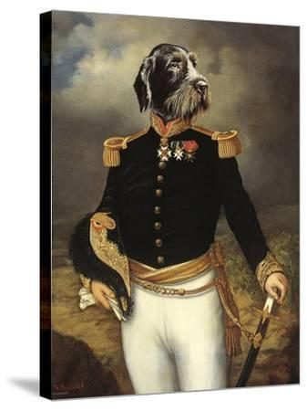 Ceremonial Dress-Thierry Poncelet-Stretched Canvas Print