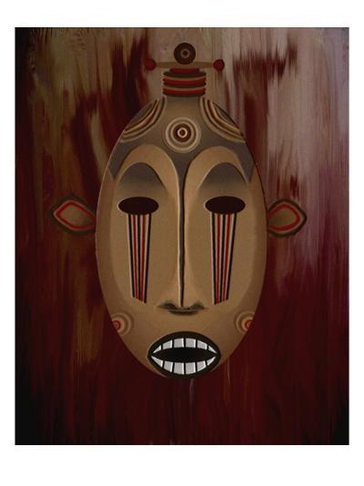Ceremonial Mask-Rich LaPenna-Giclee Print