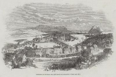 Ceremony of Founding the New Town of Dumbarton--Giclee Print