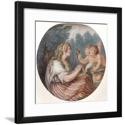Ceres, c1747-1815, (1915)-Francesco Bartolozzi-Framed Giclee Print