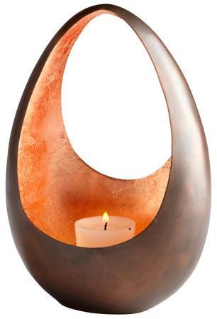 Ceres Copper Candleholder