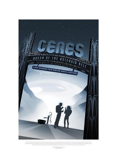 Ceres- Queen Of The Asteroid B--Giclee Print