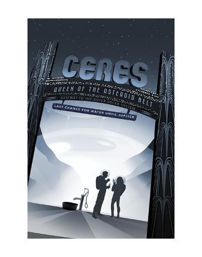 Ceres-Vintage Reproduction-Art Print