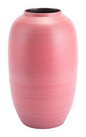 Cerise Large Vase Coral
