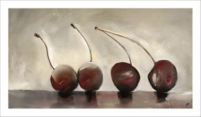 Cerises, c.2006-Nathalie Clement-Premium Giclee Print