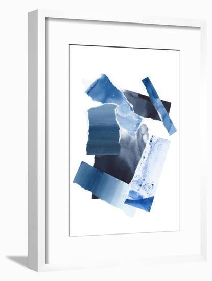 Cerulean Assemblage 1-Stefano Altamura-Framed Giclee Print