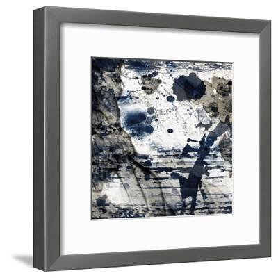 Cerulean Shimmer 1-Marcus Prime-Framed Art Print