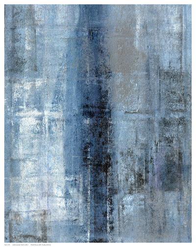 Cerulean Texture I-C^ Tice-Art Print