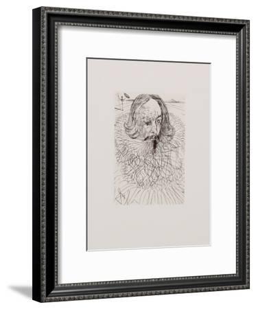 Cervantes-Salvador Dalí-Framed Collectable Print