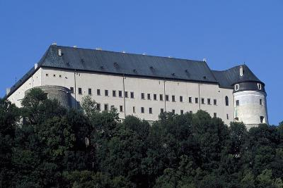 Cerveny Kamen Castle, Near Casta, Slovakia--Giclee Print