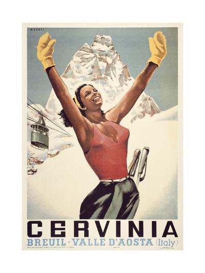 Cervinia-Marcus Jules-Giclee Print