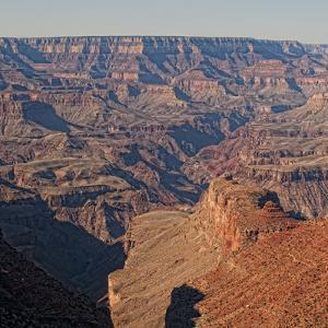 A Stitched Panoramic of the Grand Canyon by Cesare Naldi