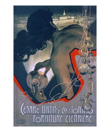 Cesare Urtis and Co-Adolfo Hohenstein-Art Print