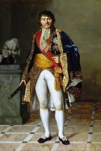 Portrait of François-Joseph Lefebvre (1755-182), Marshal of the Empire by Césarine Henriette Davin-Mirvault