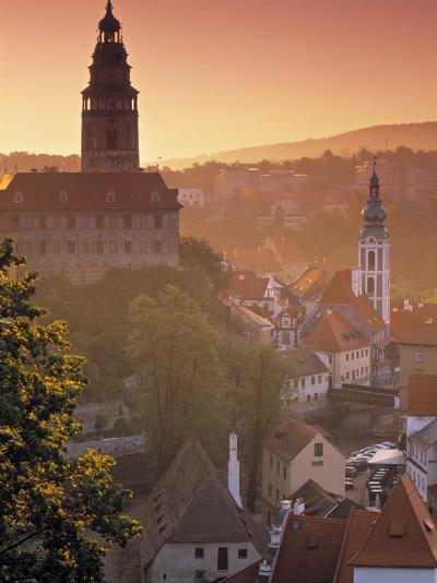 Cesky Krumlov, South Bohemia, Czech Republic-Walter Bibikow-Photographic Print
