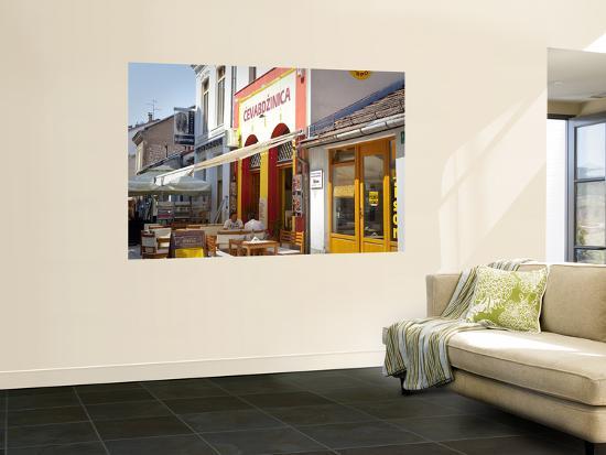 Cevabdzinica Cafe-Richard l'Anson-Wall Mural